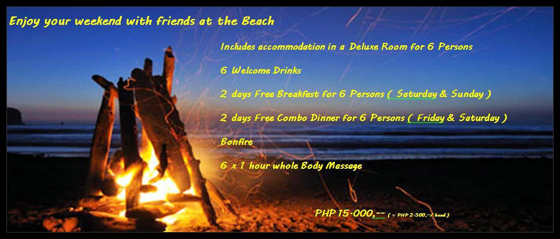 enjoy your weekend with friends at the Beach rev1