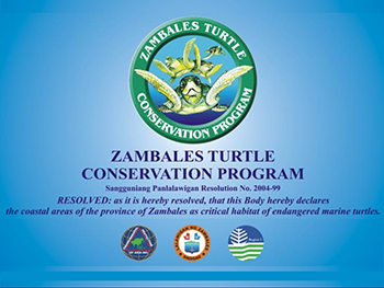 Zambales Turtle Conservation Program